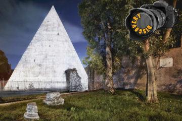Dentro la Piramide Cestia