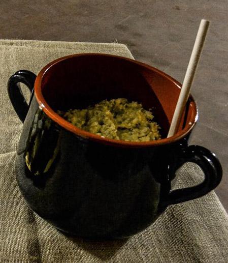 farinata nella pentola ricetta medievale