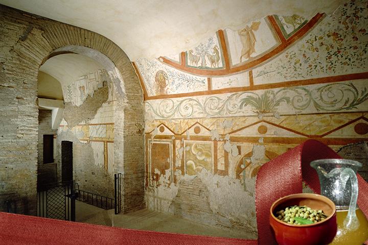 Aperitivo archeologico alle Case Romane del Celio