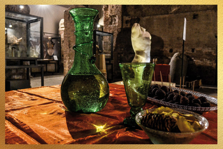 aperitivi in siti archeologici per eventi aziendali