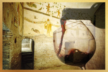degustazione vini in siti archeologici per feste aziendali
