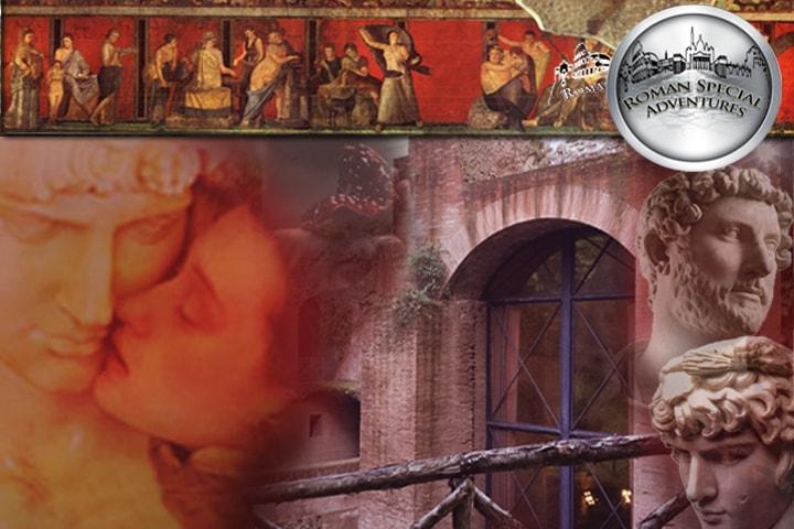 Il piacere sensuale nell'antica Roma