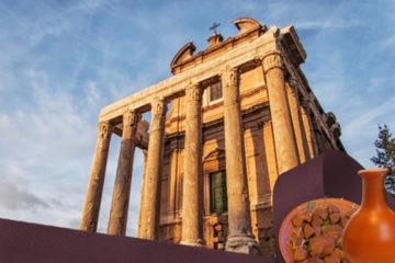 IL TEMPIO DI ANTONINO E FAUSTINA - aperitivo archeologico ai fori